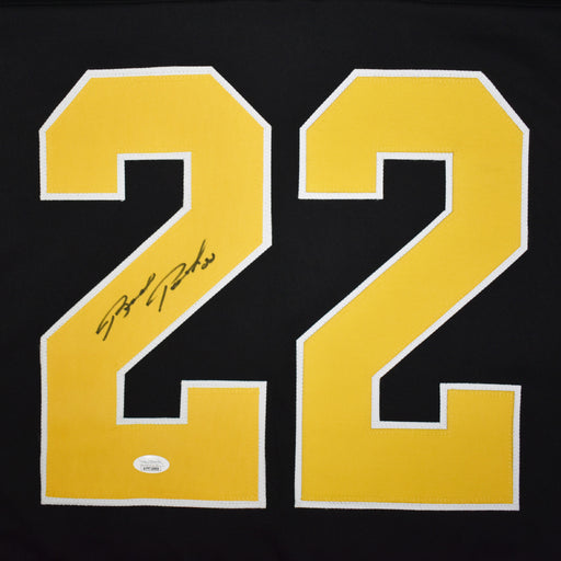 Brad Park Signed Boston Black Hockey Jersey (JSA)