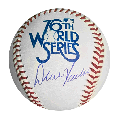 Dave Parker Autographed 1979 Official World Series Baseball (JSA)