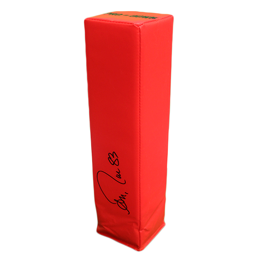 Andre Reed Autographed End Zone Pylon (JSA)