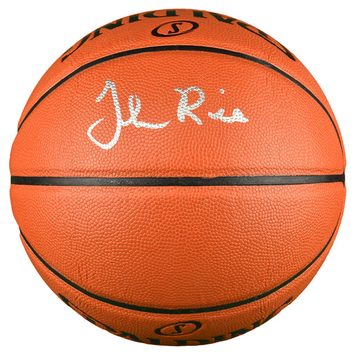 Glen Rice Signed Spalding NBA Game Series Basketball (JSA)