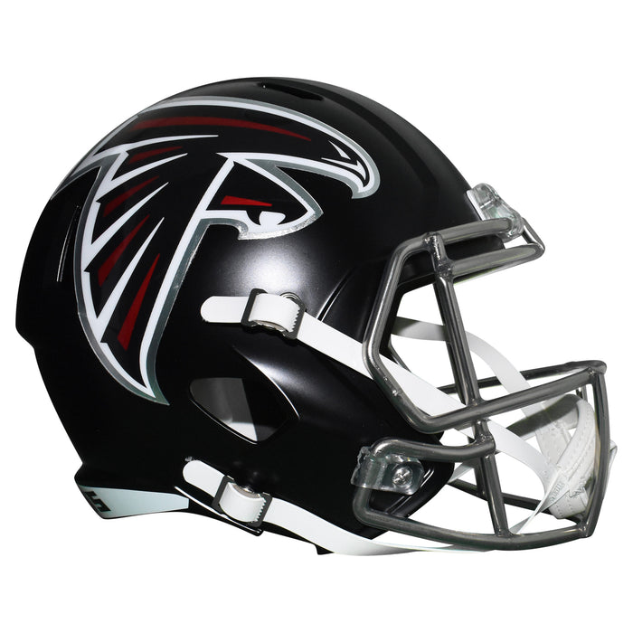 Calvin Ridley Signed Atlanta Falcons Full-Size Speed Replica Football Helmet (JSA)