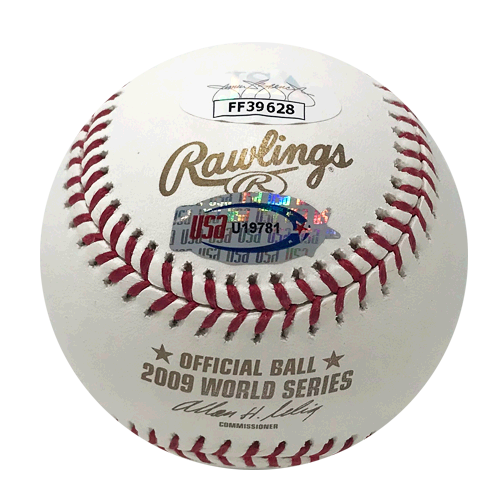 Mariano Rivera Yankees Signed '09 WS Champs Official 2009 World Series Baseball (JSA)
