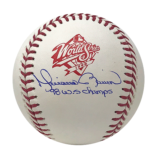 Mariano Rivera Yankees Signed '98 WS Champs Official 1998 World Series Baseball (JSA)