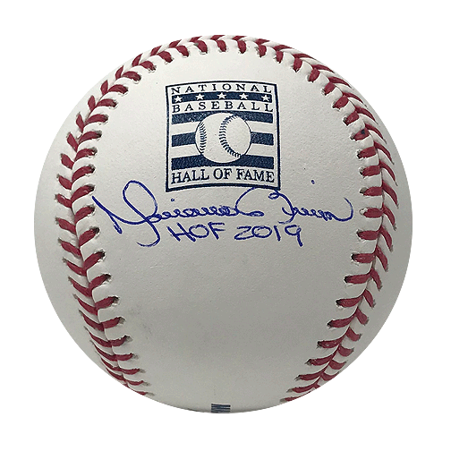 Mariano Rivera Yankees Signed HOF '19 Official Hall of Fame Baseball (JSA)