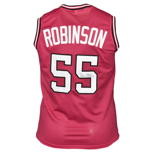 Duncan Robinson Signed Miami Pro Pink Basketball Jersey (JSA)
