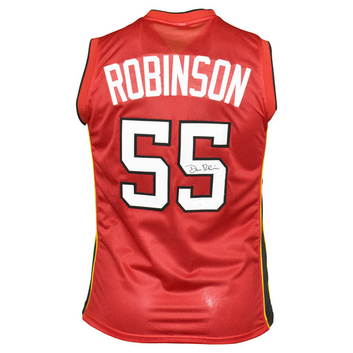 Duncan Robinson Signed Miami Pro Red Basketball Jersey (JSA)