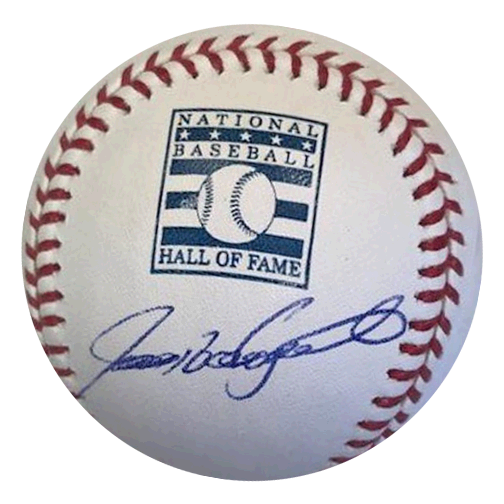 "Ivan ""Pudge"" Rodriguez Autographed Official Major League Hall of Fame Baseball (JSA)"