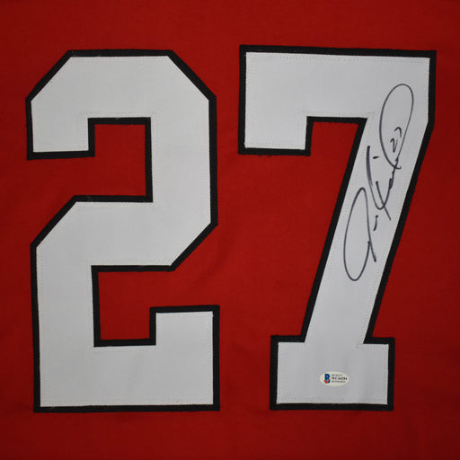 Jeremy Roenick Signed Chicago Red Hockey Jersey (Beckett)