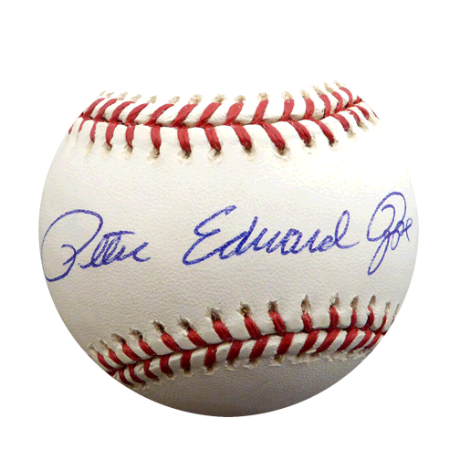 "Pete Rose Full Name Autographed Official Major League Baseball ""PETE EDWARD ROSE"" (PSA) ! OGS"