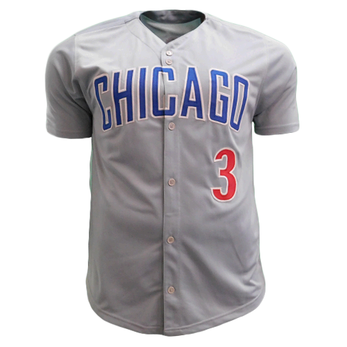 David Ross Autographed Chicago Pro Style Baseball Jersey JSA