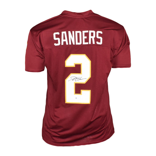 Deion Sanders Signed College-Edition Maroon Football Jersey (Beckett)
