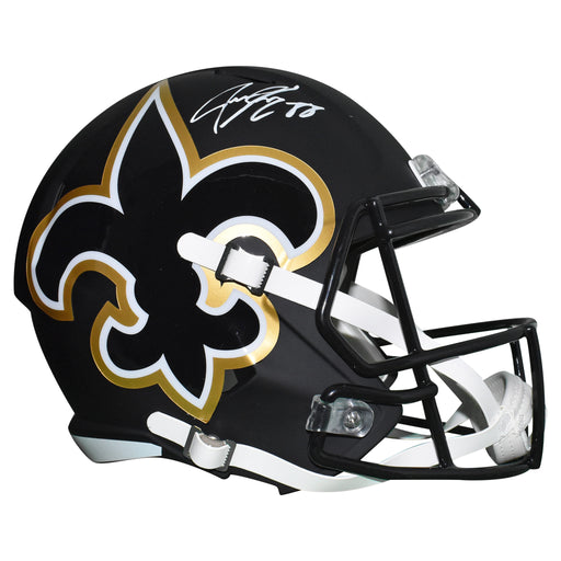 Jeremy Shockey Signed New Orleans Saints Full-Size Amp Speed Replica Football Helmet (JSA)