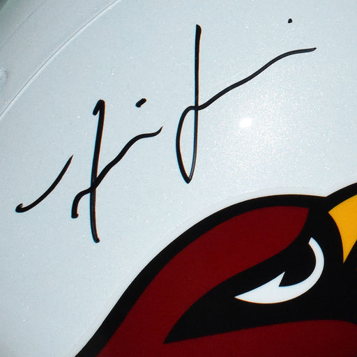 Isaiah Simmons Signed Arizona Cardinals Full-Size Replica White Football Helmet (JSA)