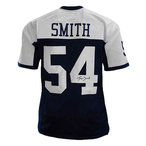Jaylon Smith Signed Pro Edition Thanksgiving Football Jersey (JSA)