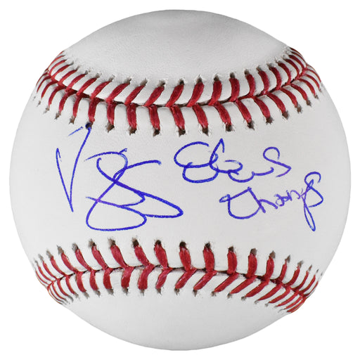Darryl Strawberry Signed Inscribed 86 World Series Champs Official Major League Baseball (PSA)