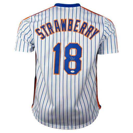 Darryl Strawberry Signed New York Pro-Edition Pinstripe Baseball Jersey (PSA)