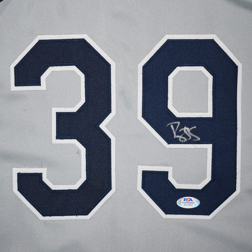 Darryl Strawberry Signed New York Pro-Edition Gray Baseball Jersey (PSA)