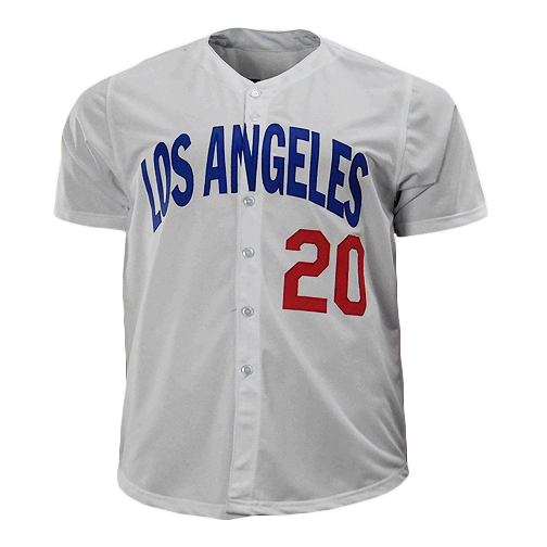 Don Sutton Signed HOF '98 Los Angeles Pro Edition White Baseball Jersey (JSA)
