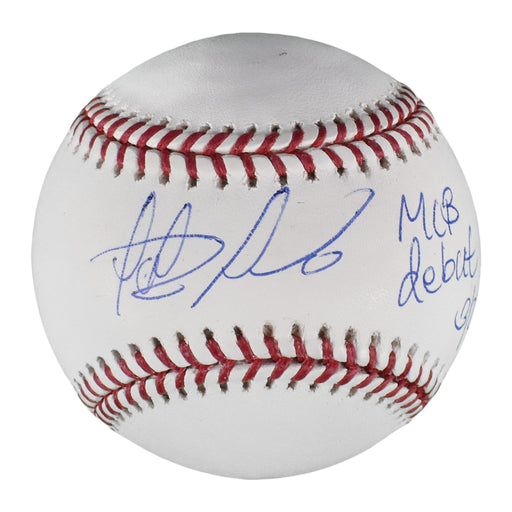 Fernando Tatis Jr. Autographed MLB Baseball (JSA) MLB Debut 3/28/19 Inscription