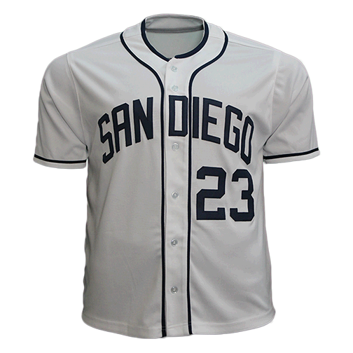 Fernando Tatis Jr Autographed San Diego Pro Throwback Style White Baseball Jersey Rookie Debut JSA COA! Compare at $350