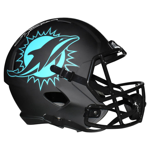 Jason Taylor Signed Miami Dolphins Eclipse Speed Full-Size Replica Football Helmet (JSA)