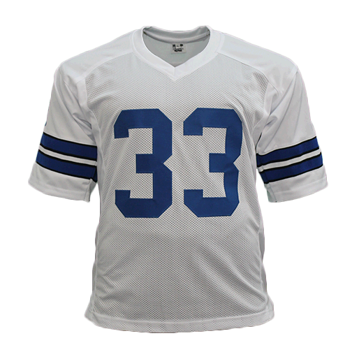 Duane Thomas Dallas Cowboys Autographed Football Jersey White Edition (JSA)