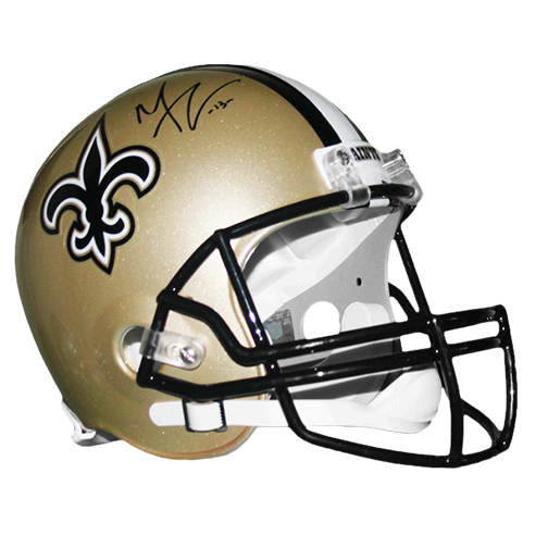 Michael Thomas New Orleans Saints Autographed Full Size Football Replica Helmet (JSA)