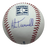 Alan Trammell Autographed Rawlings Hall of Fame Official Major League Hall of Fame Baseball JSA