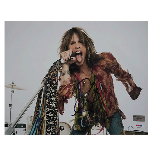 Steven Tyler Signed 11x14 Photo Pose 3 (PSA)