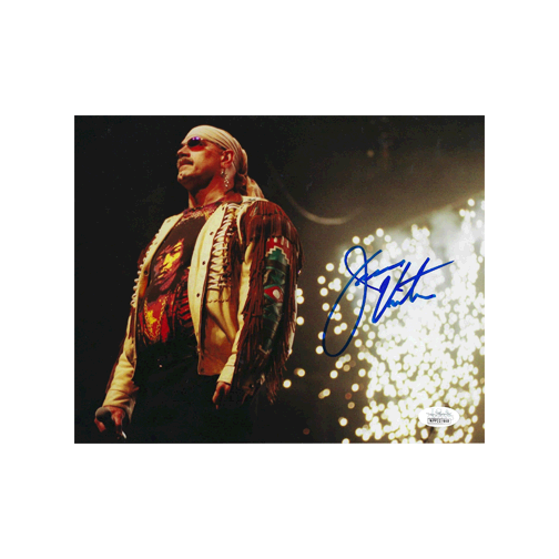 "Jesse ""The Body"" Ventura  Autographed 8 x 10 Photo (JSA COA) Pose 2 MISC"