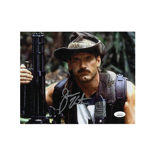 "Jesse ""The Body"" Ventura  Autographed 8 x 10 Photo (JSA COA) Pose 4 MISC"