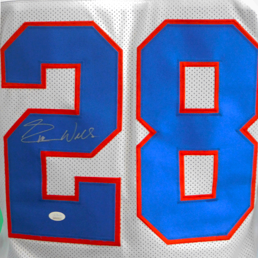 Everson Walls Autographed Pro Style Color Rush Football Jersey (JSA)