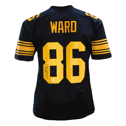 Hines Ward Signed Pro Edition Color Rush Football Jersey (JSA)