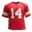 Sammy Watkins Autographed Pro Style Red Football Jersey (Beckett)
