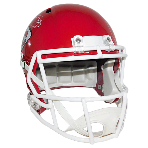 Sammy Watkins Kansas City Chiefs Autographed Full Size Red Speed Football Helmet (Beckett COA)