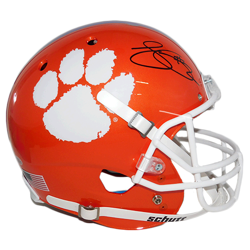 Sammy Watkins Clemson Tigers Autographed Full Size Orange Speed Football Helmet (Beckett)