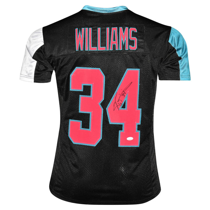 Ricky Williams Signed Miami Pro Miami Vice Football Jersey (JSA)