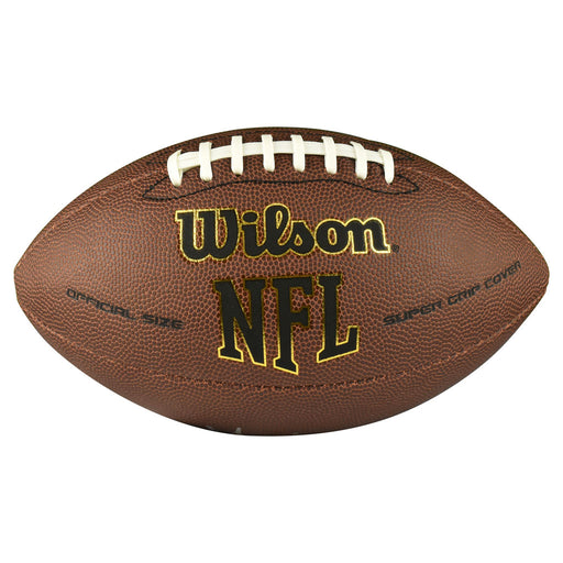 Randy Gradishar Signed Wilson Official NFL Replica Football (JSA)