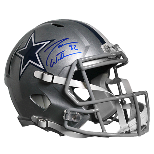 Jason Witten Dallas Cowboys Autographed Full Size Speed Football Helmet (BECKETT COA)