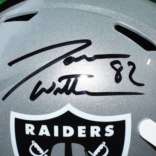 Jason Witten Signed Las Vegas Raiders Full-Size Speed Replica Football Helmet (Beckett)