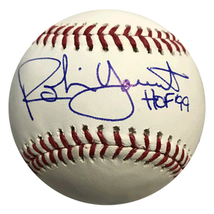 """12 Hour Best Price"" Robin Yount Autographed Official Major League Baseball (JSA COA) HOF Inscription"