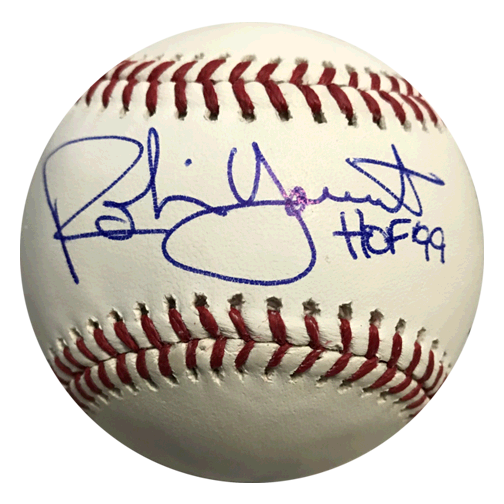 Robin Yount Autographed Official Major League Baseball (JSA) HOF Inscription