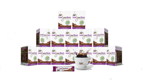 12 Boxes Lean Java Bean (360 Packets)
