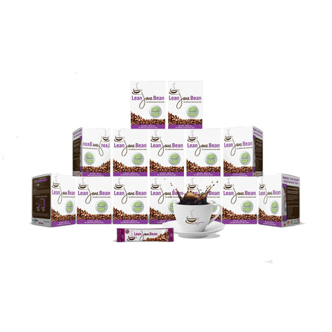 Lean Java Bean Keto Coffee 12 Boxes (360 Packets)