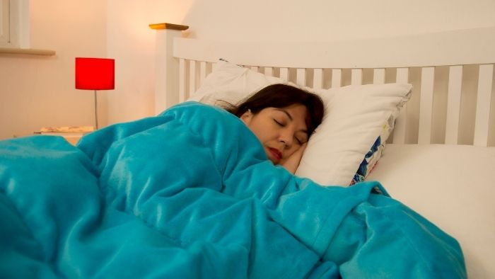 Kocoono Weighted Blankets stimulate your pressure points, helping relax your body deeply.