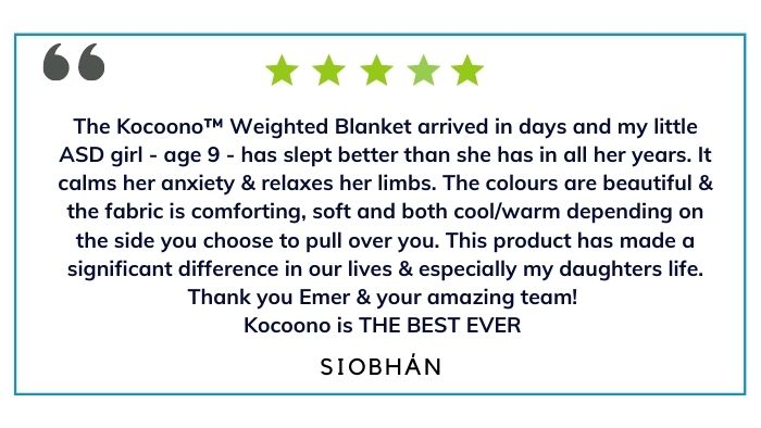 Kocoono Weighted Blankets for children with Autism: Benefits and reviews