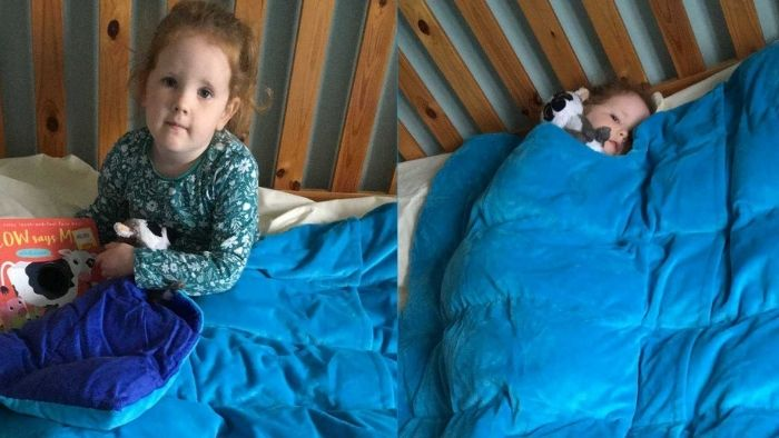 Benefits of Kocoono Weighted Blankets on children with Autism