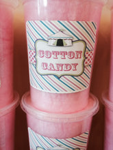 PRE PACKAGED COTTON CANDY WITH LABEL