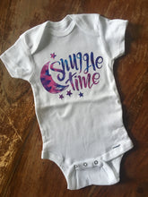 Snuggle Time - Gerber brand onesie available in sizes from 0-24 months.
