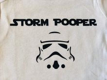 Storm Pooper - Gerber brand onesie available in sizes from 0-24 months.